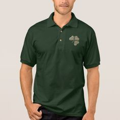 Irish Shamrock Clover Gold Ireland Love Shirt - elegant gifts gift ideas custom presents
