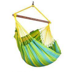 Sonrisa Lime - Hängesessel wetterfest - Brasil Hängemattenshop.com