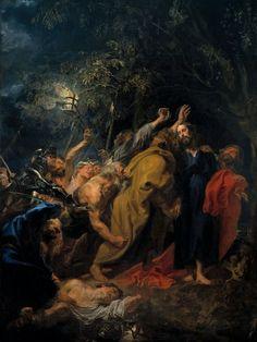 15 Abr 2014   SEMANA SANTA > MARTES SANTO - EL BESO DE JUDAS   Anthony Van Dyck , (1599-1641): El beso de Judas , 1620
