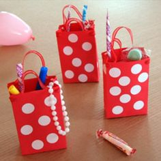 """Minnie's Mouse Party - ACTIVITY: make candy pearl necklaces (like from Mermaids) in the """"Bow-tique"""" and pick a bow to tie on your mouse ears headband (red, white, polka dots, pink, etc.)"""