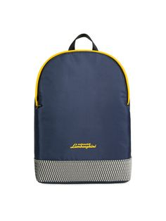 The Automobili-Lamborghini backpack stands apart for its practical design and meticulous detailing. It has been enhanced with 3D script logo, a customised zip pull which showcases the iconic Y shape and a mesh insert which references the hexagonal patterning on the super-sports car made by the legendary Sant'Agata Bolognese brand.