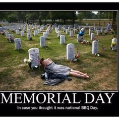 Memorial Day - we remember those that served and serve still - God bless America and her veterans ♥️
