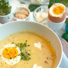 Kulejba chrzanowa – przepyszna zupa Soup Recipes, Vegetarian Recipes, Cooking Recipes, Yummy Mummy, Yummy Food, Polish Recipes, Polish Food, Easter Dinner, Healthy Dishes