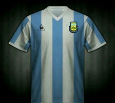 Argentina home shirt for the 1982 World Cup Finals.