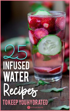 25 Infused Water Recipes To Keep You Hydrated These Infused water recipes, enriched with the goodness of fruits, spices, and herbs, will get your attention and be immensely beneficial for you. Flavored Water Recipes, Fruit Recipes, Water Infusion Recipes, Healthy Water, Healthy Drinks, Enjoy Your Meal, Fruit Infused Water, Infused Waters, Water With Fruit