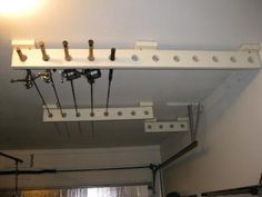 fishing rod hooks for garage | Lure/Rod storage ideas for basement or garage? at IDOfishing.com