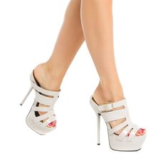 Tulip - ShoeDazzle - Sky high hotness.