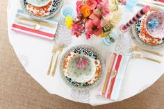 coco+kelley and furbish tabletop