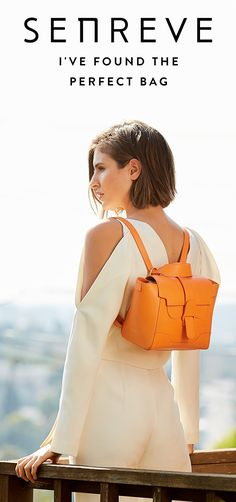Meet SENREVE, the perfect handbag line for women who do it all.