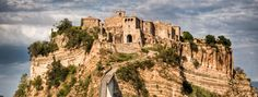 This is Civita and amazing tiny town in Italy.  Had a long walk to get there but had great wine and bruschette to get revived.  Wonderful memories!