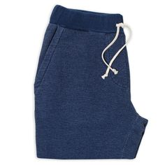 Sea Washed Indigo Fleece Sweatpants: Featured Product Image