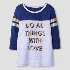 Girls' Athletic T-Shirt Cat & Jack™ - Lavender : Target