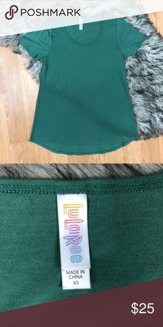 Lularoe green perfect T Green. Size XS. LuLaRoe Tops Tees - Short Sleeve