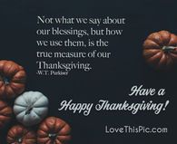 Happy Thanksgiving Pictures, Photos, and Images for Facebook, Tumblr, Pinterest, and Twitter