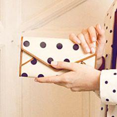 Polka Dot Envelope Long Wallet
