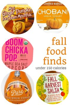 Healthy Friday Five Fall Food Finds