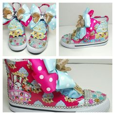 Limited Edition SHOPKINS Inspired Pink Shoe (CONVERSE)