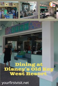 Disney Vacation Club (DVC): Dining Options at Disney's Old Key West Resort | yourfirstvisit.net | #DisneyVacationClub #DVC #DisneysOldKeyWestResort Saratoga Springs Resort, Springs Resort And Spa, Disney World Deals, Disney World Planning, Disney Vacation Club, Walt Disney World Vacations, Key West Resorts, Grand Floridian Disney, Disney World Tips And Tricks