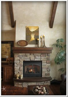 Creative Juices Decor: Late Night Decorating–Fireplace Mantle and Piano Recital Music