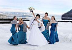 Prendre des photos de mariage dans la neige | Dire Fare Baciare