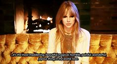 She understands love like a seasoned pro. | 22 Signs Taylor Swift Is Actually 82