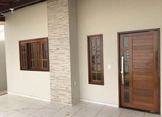 new Ideas for main entrance door interior Modern Entrance Door, Entrance Doors, Bungalow House Design, Front Door Design, House Doors, Home Design Plans, House Painting, Tall Cabinet Storage, Decoration