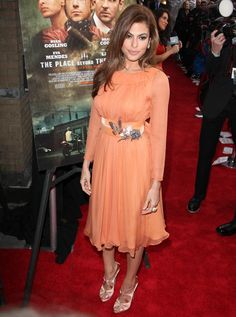 Eva Mendes at the NYC premiere of 'The Place Beyond the Pines' at Landmark Sunshine Cinema, March 28, 2013