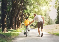 Me, Dad, Bicycle, and Memories - a tribute to dads and stories of how 'they' grow up with us, the kids Father's day special stories and flash fiction