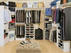find this pin and more on casa scenic closet room design awesome walk in closet room design ideas
