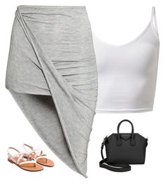 """Untitled #670"" by prettygirlnunu ❤ liked on Polyvore featuring moda, H&M y Givenchy"