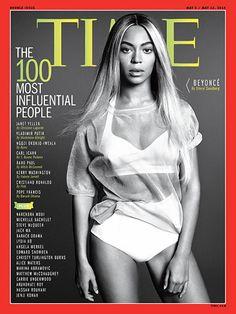 Beyoncé, la más influyente  Más: http://www.trendencias.com/revistas/phoebe-philo-y-beyonce-en-la-lista-de-time-de-las-100-personas-mas-influyentes-de-2014