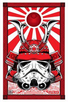Samurai Stormtrooper- geek cool ! X