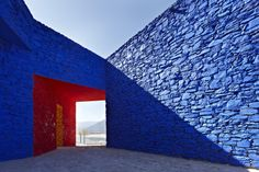 Standard Architecture . Niyang river visitor center, China, photo Chen Su