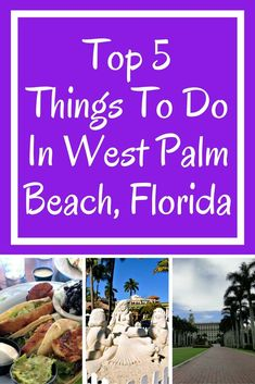 Here are my top 5 things I enjoy doing when in West Palm Beach. Have you ever been to this ritzy Florida gem?