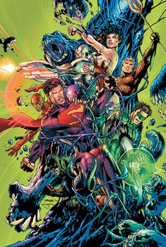 Justice League by Jim Lee.