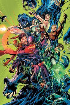 Justice League by Jim Lee.