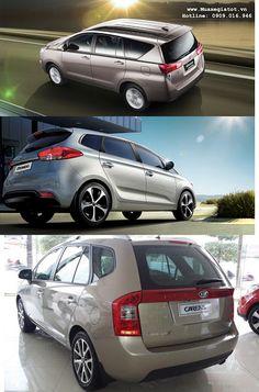 So sánh Toyota Innova 2016 hoàn toàn mới với Kia Carens và Rondo tại Việt Nam | Kênh Mua Bán Xe Hơi Giá Tốt | Muaxegiatot.vn