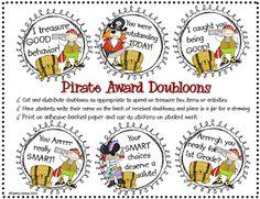 Sailing Through 1st Grade: Classroom Rewards