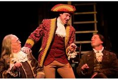 Washington DC, Toby's Dinner Theatre. This is a picture of the play 1776.