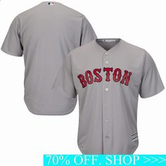 Turn dreams into reality while expressing ultimate fan loyalty today with this Boston Red Sox Majestic Official Cool Base Team Jersey Gray. This jersey is what you need to get into the game.Check out the rest of our NFL Football gear for the whole family. Football Gear, Baseball Jerseys, Tom Glavine, Red Sox World Series, Dustin Pedroia, Mookie Betts, To Boast, Socks For Sale, Boston Red Sox