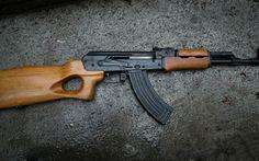 Wallpaper mak-90, ak, machine, weapon