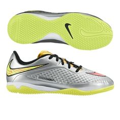 Nike Hypervenom Phade Indoor Soccer Shoes Mens Size 85 Greenblack