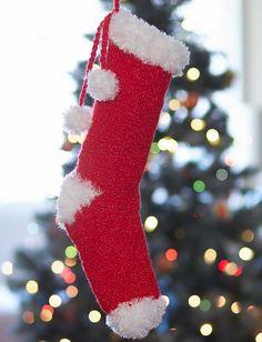 Yarnspirations.com - Bernat Craft Fair Christmas Stocking - Patterns  | Yarnspirations