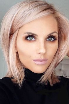 112 Best Blunt Bob Hairstyles For The Year 2019 - Style Easily Thin Hair Cuts bob cuts for thin hair 2018 Blunt Bob Hairstyles, Straight Hairstyles, Cool Hairstyles, Blonde Hairstyles, Hairstyles Haircuts, Hairstyle Ideas, Choppy Haircuts, Fashion Hairstyles, Hairstyle Short