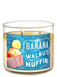 Bath Candles, 3 Wick Candles, Scented Candles, Bath N Body Works, Bath And Body Works Perfume, Cinnamon Sugar Muffins, Home Fragrances, My New Room, Banana