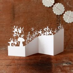 plants paper art