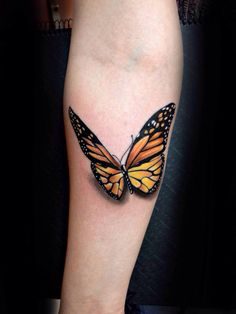 Mariposa monarca , mexico , tattoo , art