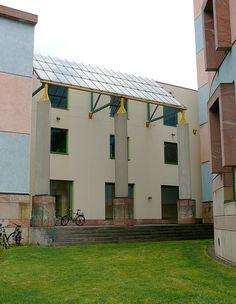 WZB Buildings, Berlin - James Stirling - 1988
