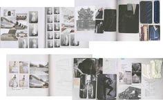 Fashion Sketchbook pages - industrial tailoring, sketches, sampling & fashion design development; fashion portfolio // Bianca de Csernatony