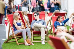 The Pimm's garden at the Love London Food Festival on #RegentStreet at the second week of #SummerStreets.